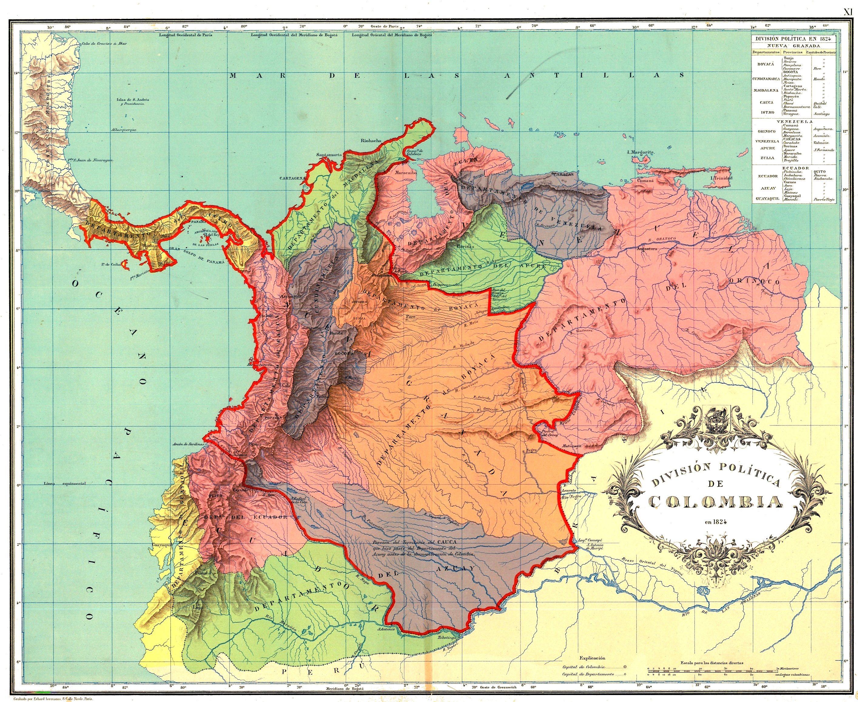 Colombia Maps