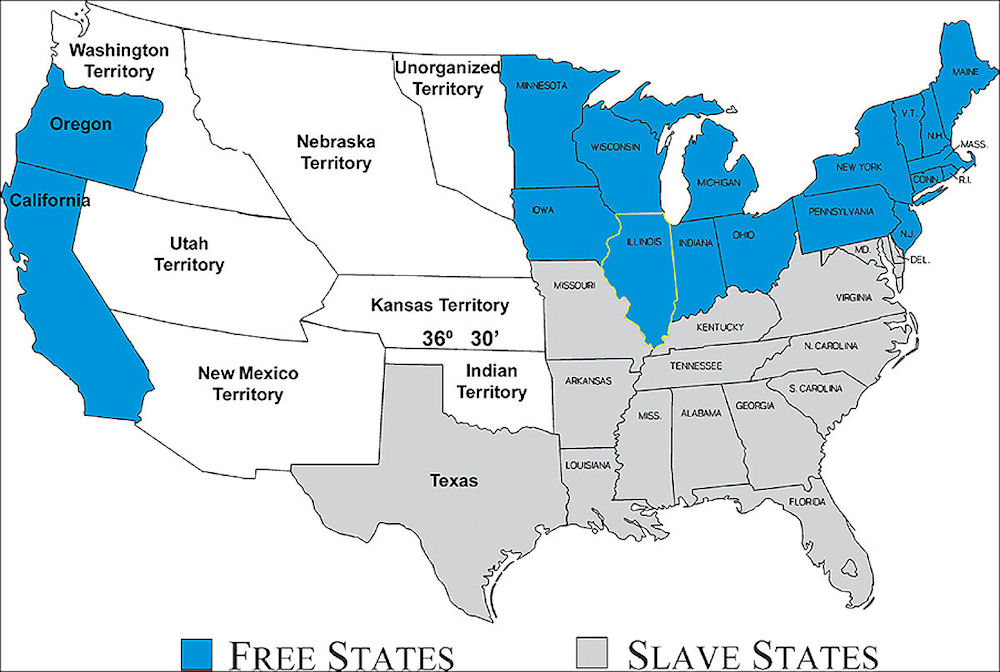 a history of slavery in the confederate states of america The first national flag of the confederate states of america was created in 1861 and had seven stars to represent the breakaway states of south carolina, mississippi, florida, alabama, georgia, louisiana and texas.