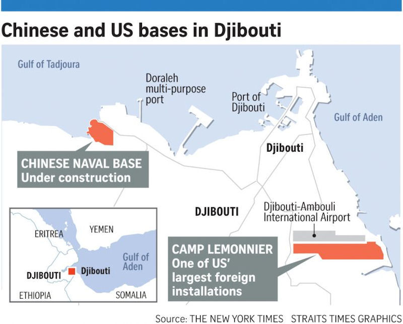 Djibouti - China Naval Base
