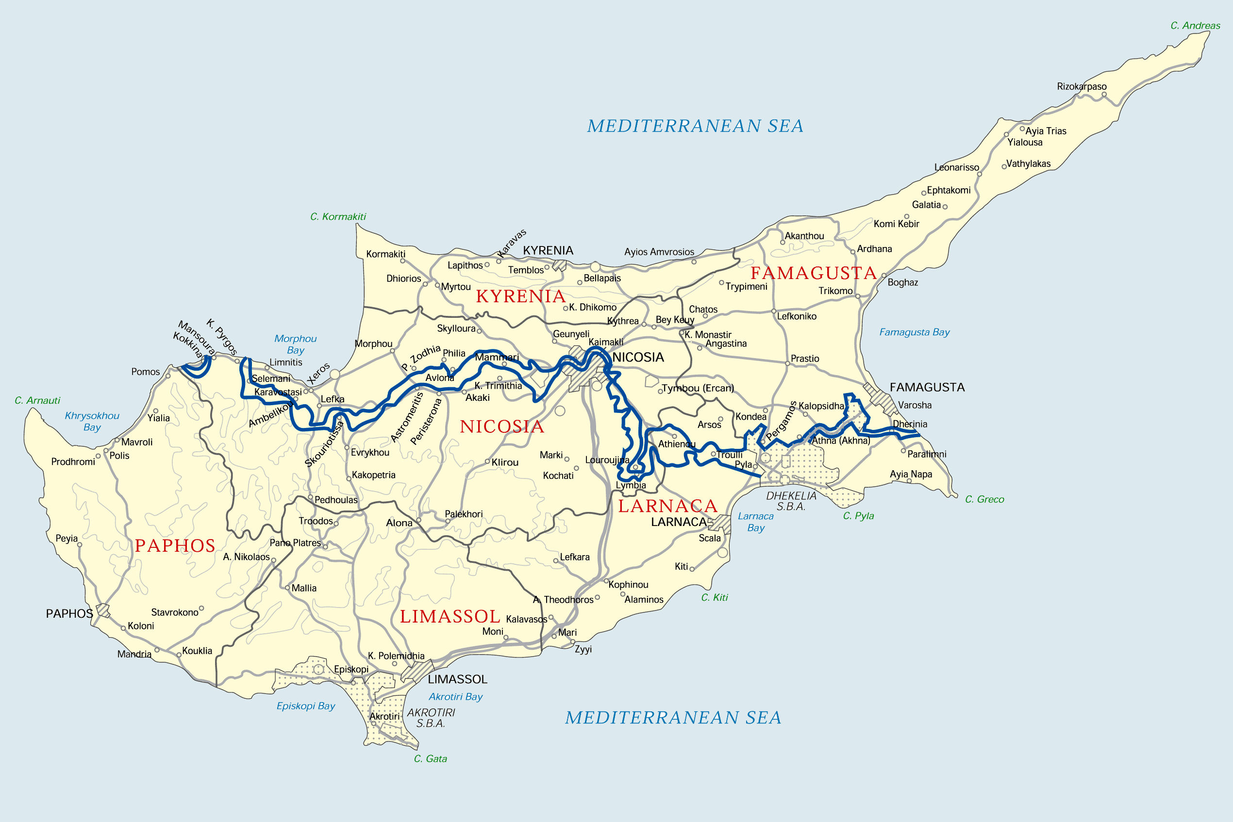 Republic of Cyprus: Green Line