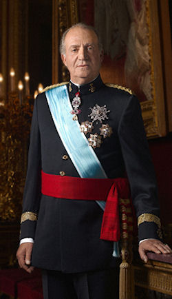 a biography of juan carlos i the current king of spain Spanish king juan carlos to abdicate throne  after he took the throne, to pave  the way for spain's current democratic system  (see a timeline of the king's life)  juan  spanish crown prince felipe talking with his father, king juan carlos i,.