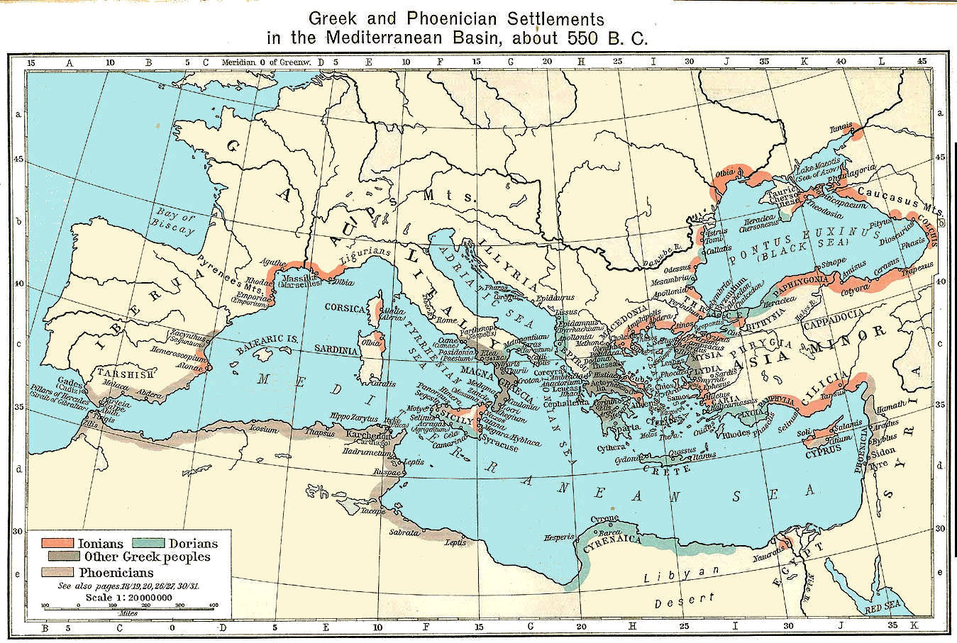 Greece maps greece map 550 bc gumiabroncs Image collections