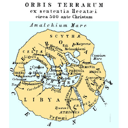 Ancient Greek Geography Maps