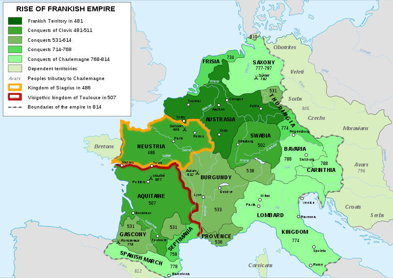 carolingian empire An abbasid–carolingian alliance was attempted and partially formed during the 8th to 9th century through a series of embassies, rapprochements and combined military operations between the frankish carolingian empire and the abbasid caliphate or the pro-abbasid muslim rulers in spain.