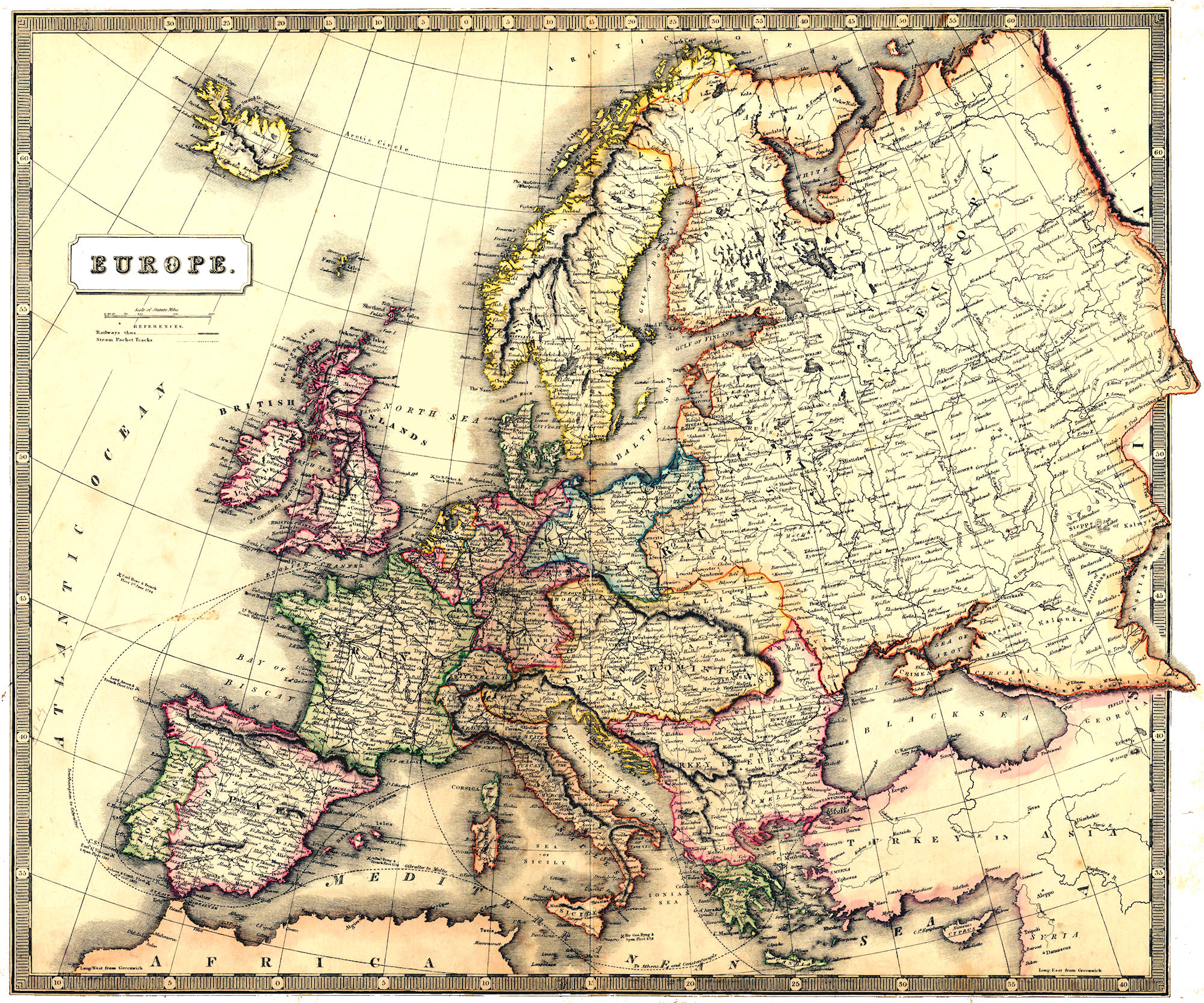 european history The division of rare and manuscript collections offers extensive materials documenting european history and culture the core of cornell library's european.