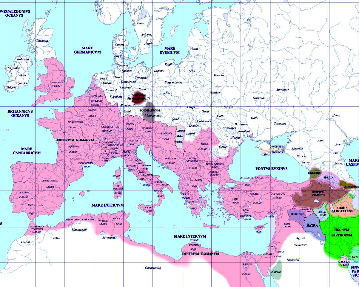 map of europe 300 ad European History Maps