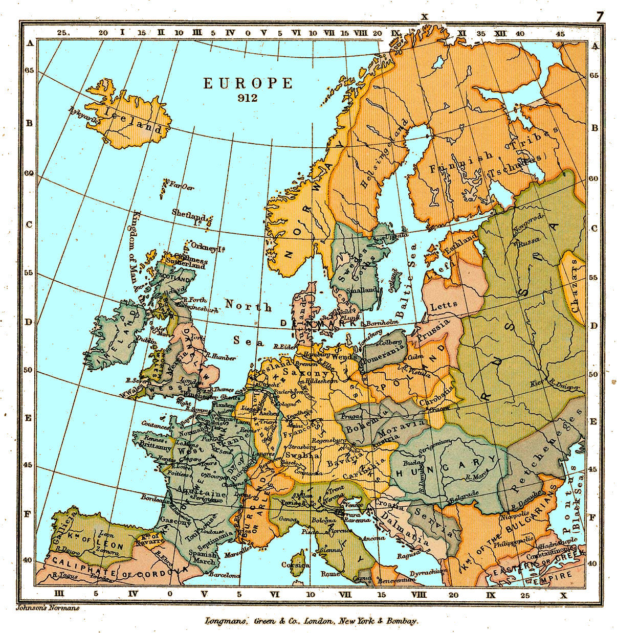 15th Century Map Of Europe.European History Maps