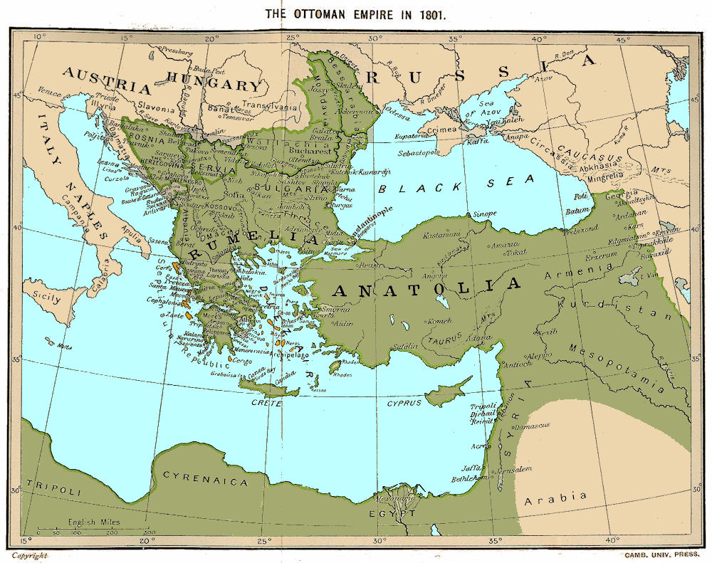 the collapse of the ottoman empire at the balkan
