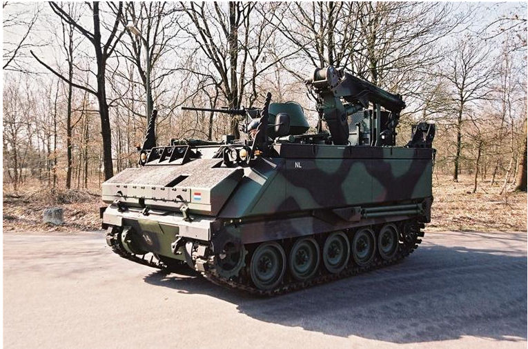 YPR armored tracked vehicle