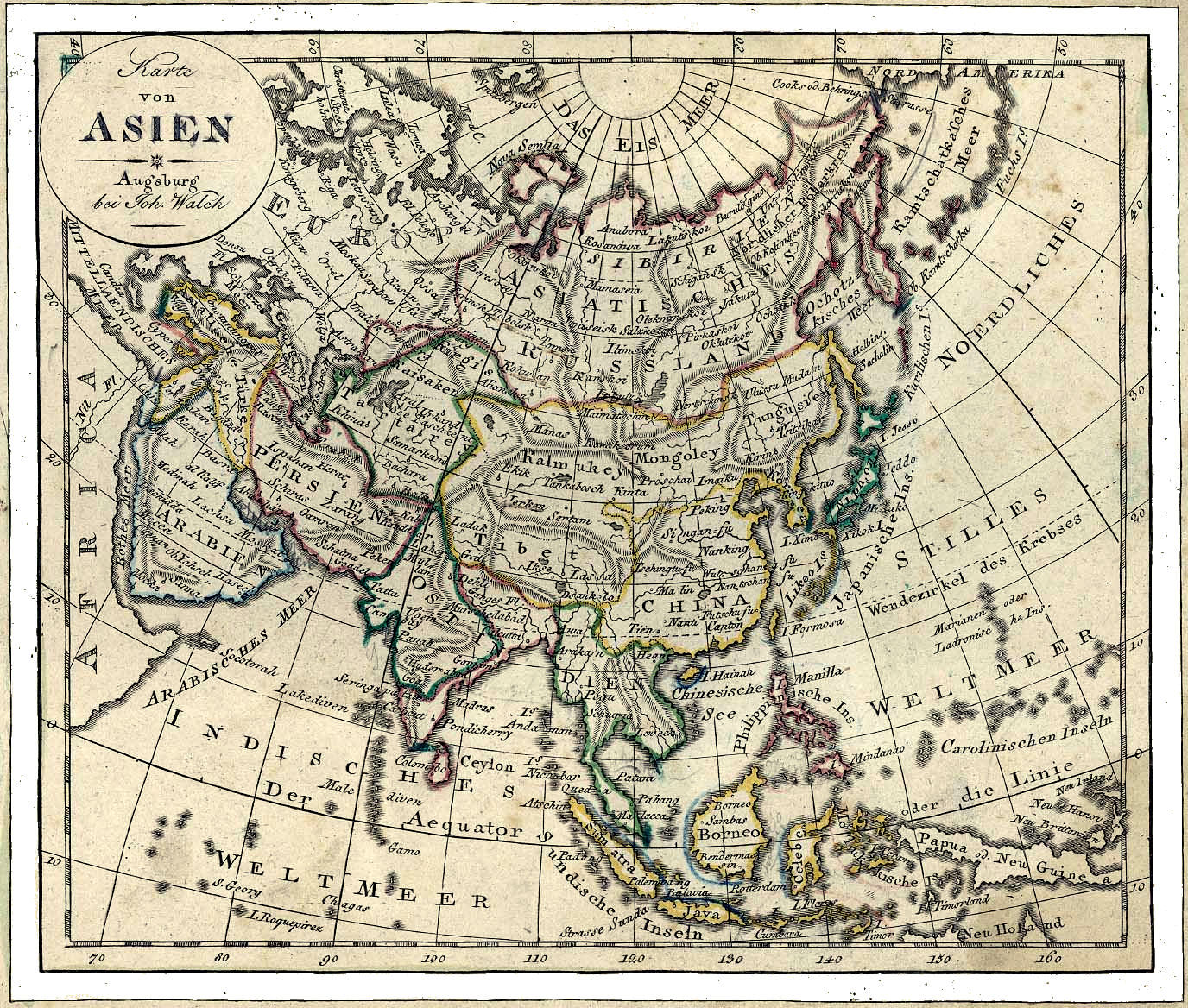 Asia maps history asia history map 1797 gumiabroncs Choice Image