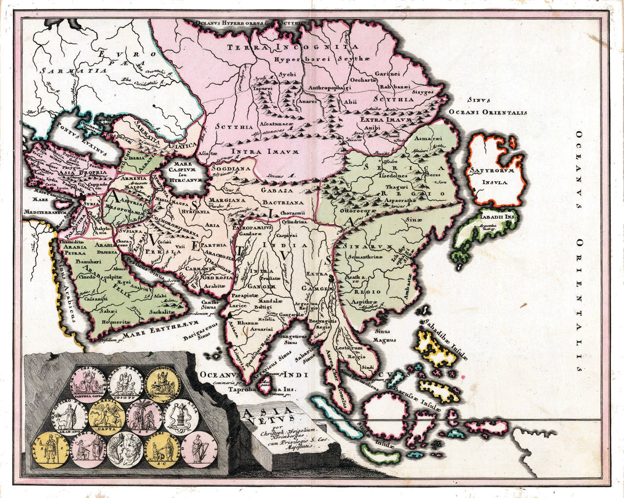 Asia maps history asia history map 1719 gumiabroncs Gallery
