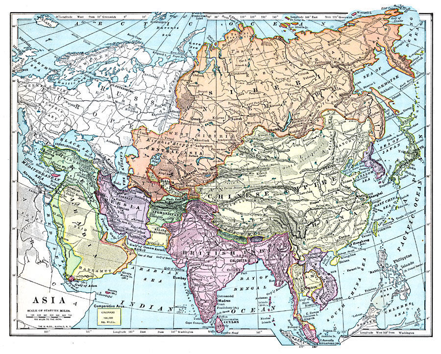 Asia maps history asia history map 1899 gumiabroncs Choice Image