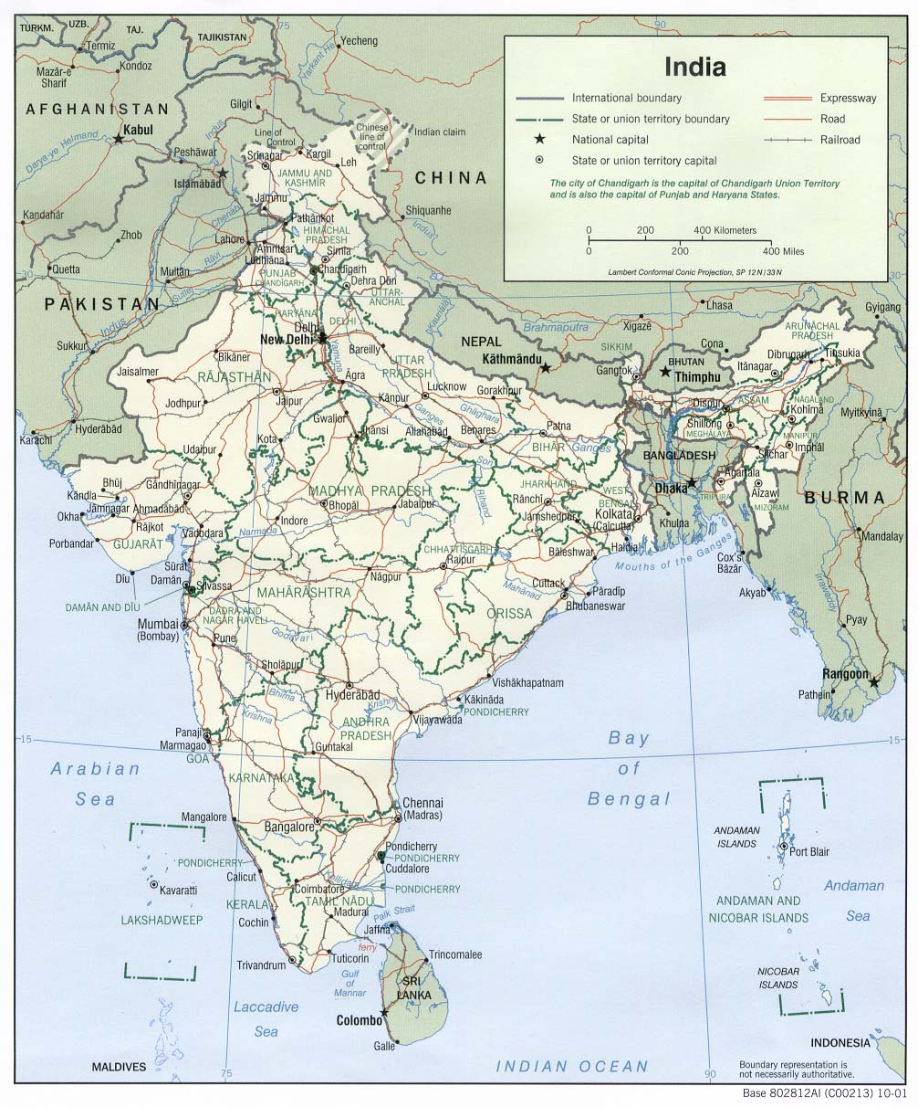 South India Map hd India South Asia Map