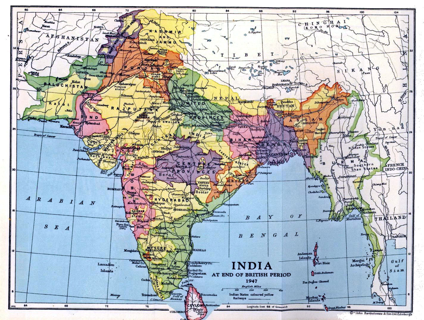 European domination of the indian subcontinent