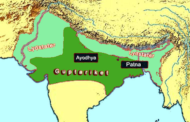 India historical maps india history map 400 ad gupta empire gumiabroncs Image collections