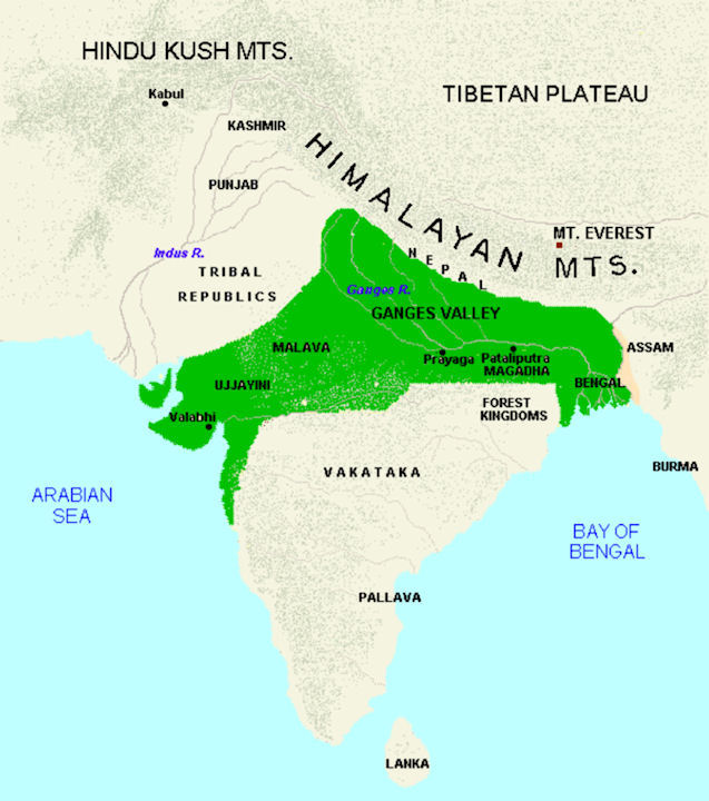 gupta rule in bengal Economic life during gupta empire - informative & researched article on economic life during gupta empire from indianetzone, the largest free encyclopedia on india.