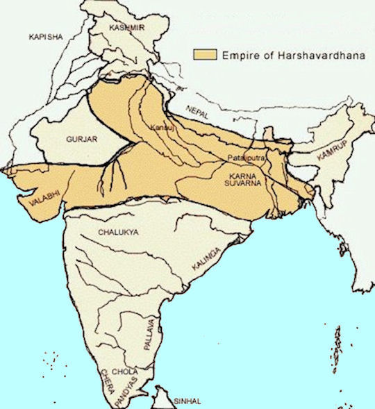 kushan empire map with History Vardhana on File Verdun Treaty 843 Pt additionally mmerlino   images middleeast besides India Maps in addition Chandragupta Mauryan Empire 320 Bce in addition History Vardhana.