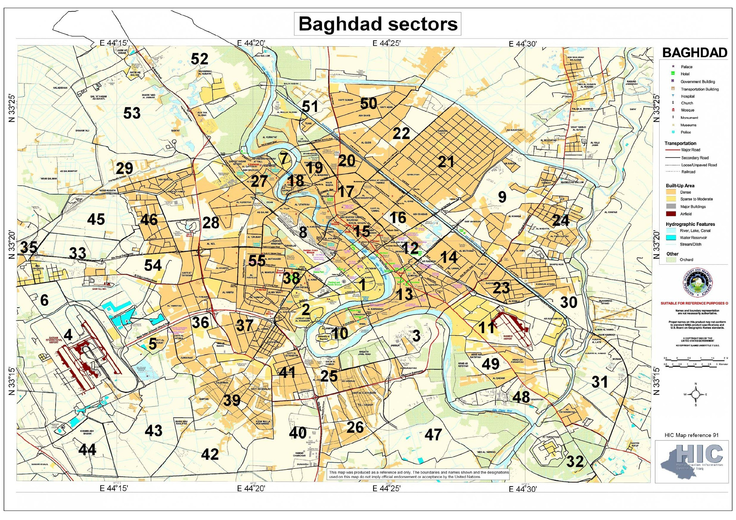 returns and removals in baghdad
