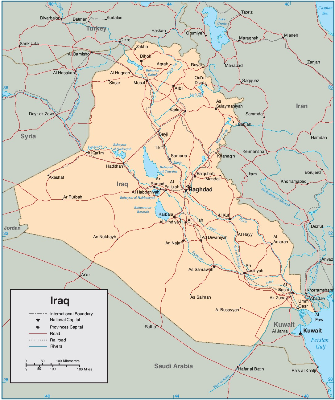 Map Of Iraq Military Pictures to Pin on Pinterest PinsDaddy