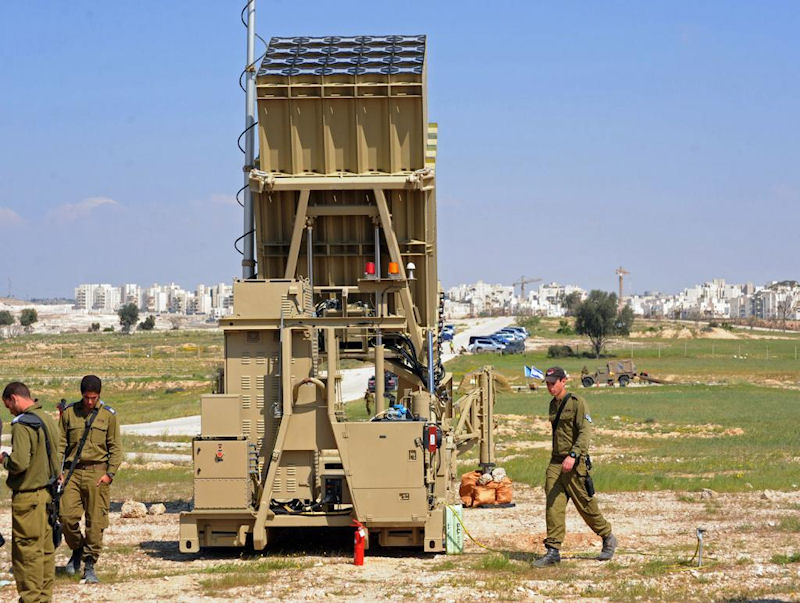 iron dome Israel's answer to rockets fired by hamas is the iron dome air defense system.