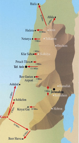 Judea and Samaria. In the Six Day War of June 1967, Israel preempted an