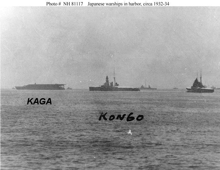 ijn kaga aircraft carrier