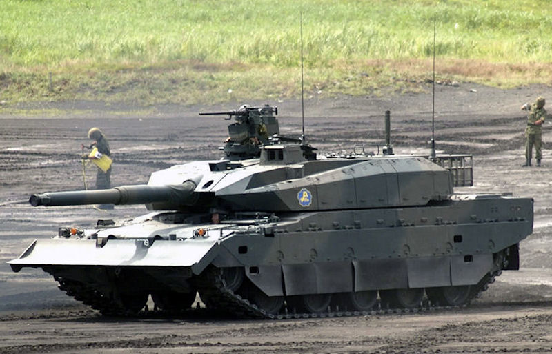 Type 10 MBT X Future Main Battle Tank