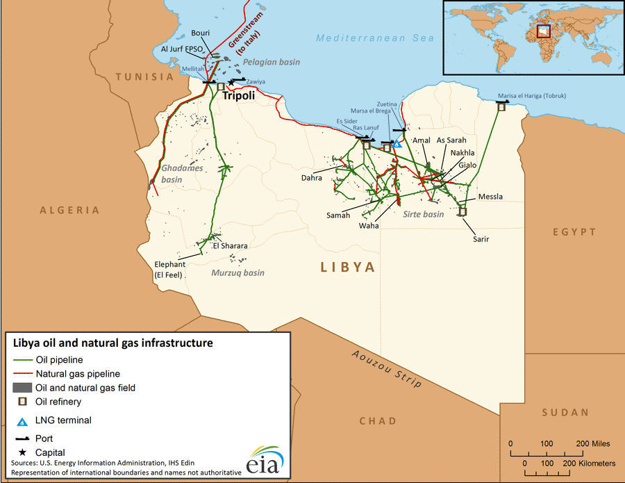 Libya oil and gas gumiabroncs Image collections
