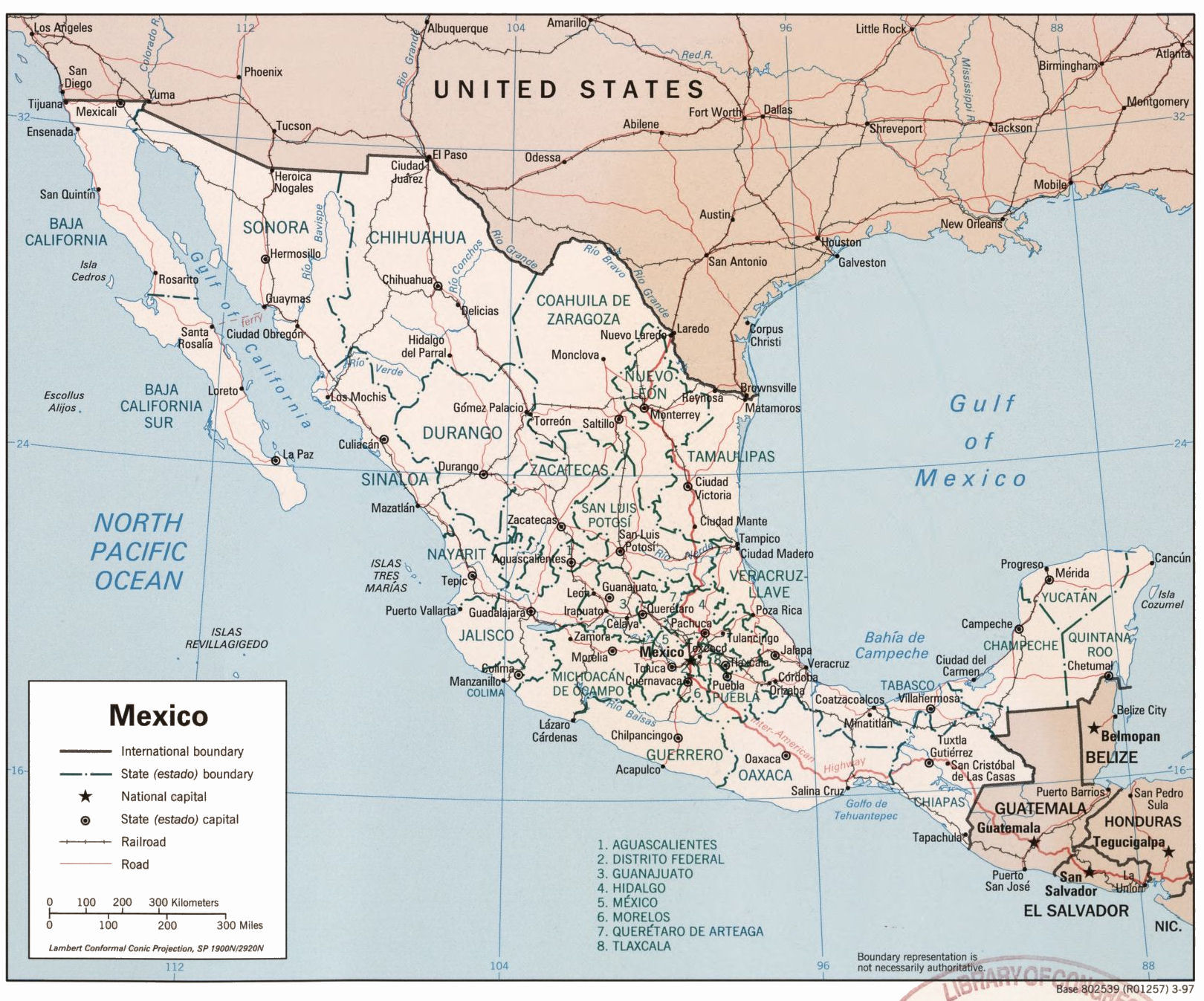 Social Security >> Mexican Military Personnel
