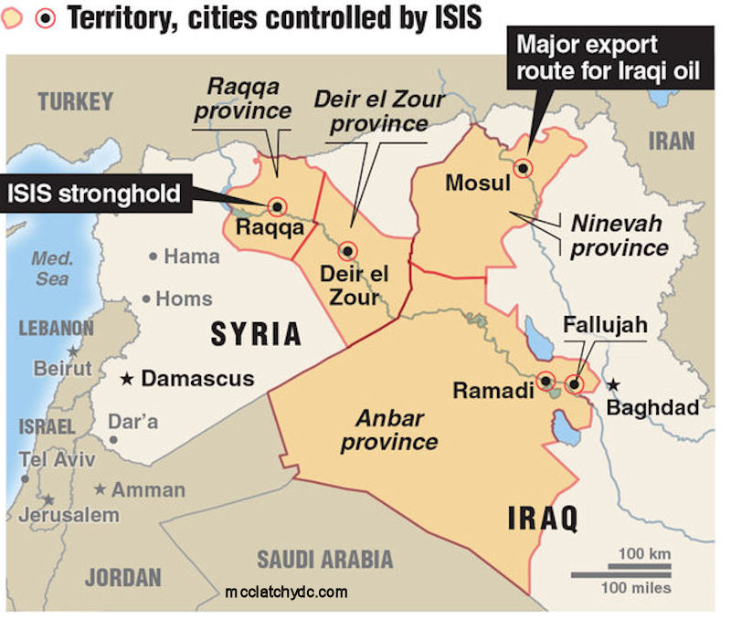 ISIL Control - 2014