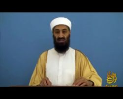 Released video footage from Osama bin Laden's Abbottabad Compound showing the founder of al-Qaeda's 'A Message to the American People' video