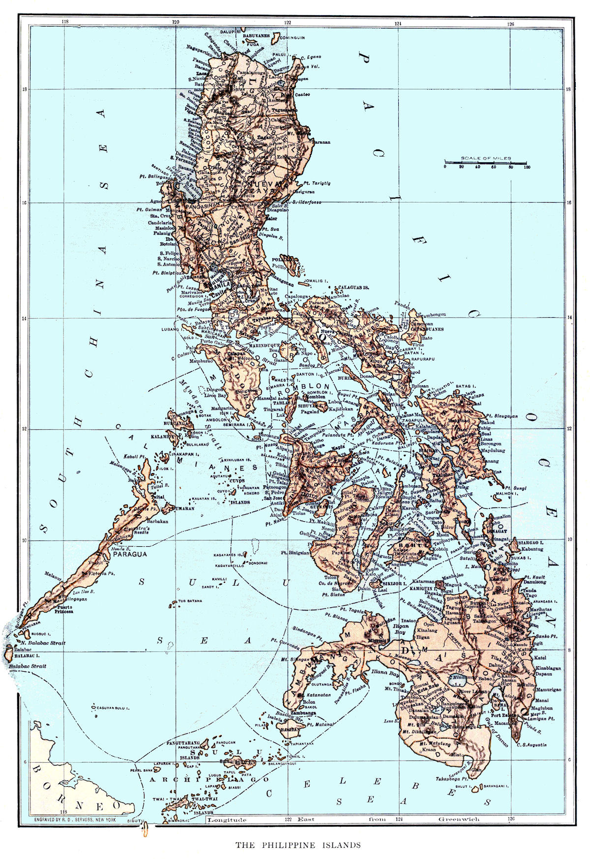 Philippine Maps - Maps of the philippines