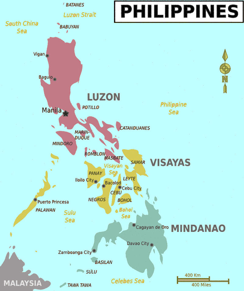 Philippine Maps - Map of philippines