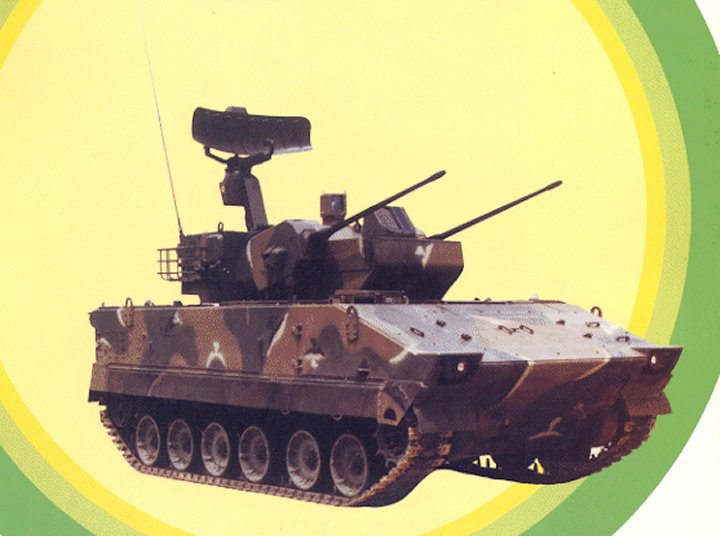 K 30 Self Propelled Aa 30mm Twin Gun System