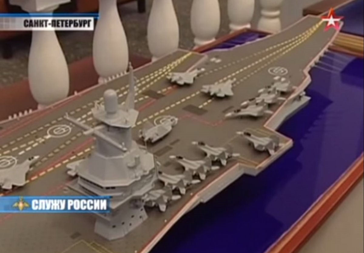 Future Russian Aircraft Carriers and Deck Aviation. #3 23000-image02