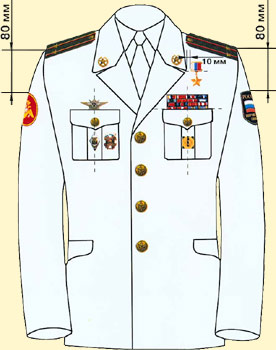 Uniforms - Placement of Insignia - photo#31