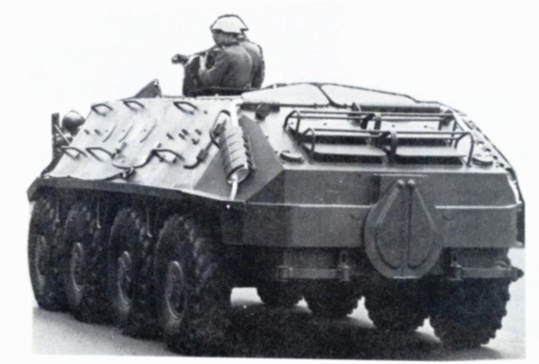 Intelligence >> BTR-60 Armored Personnel Carrier