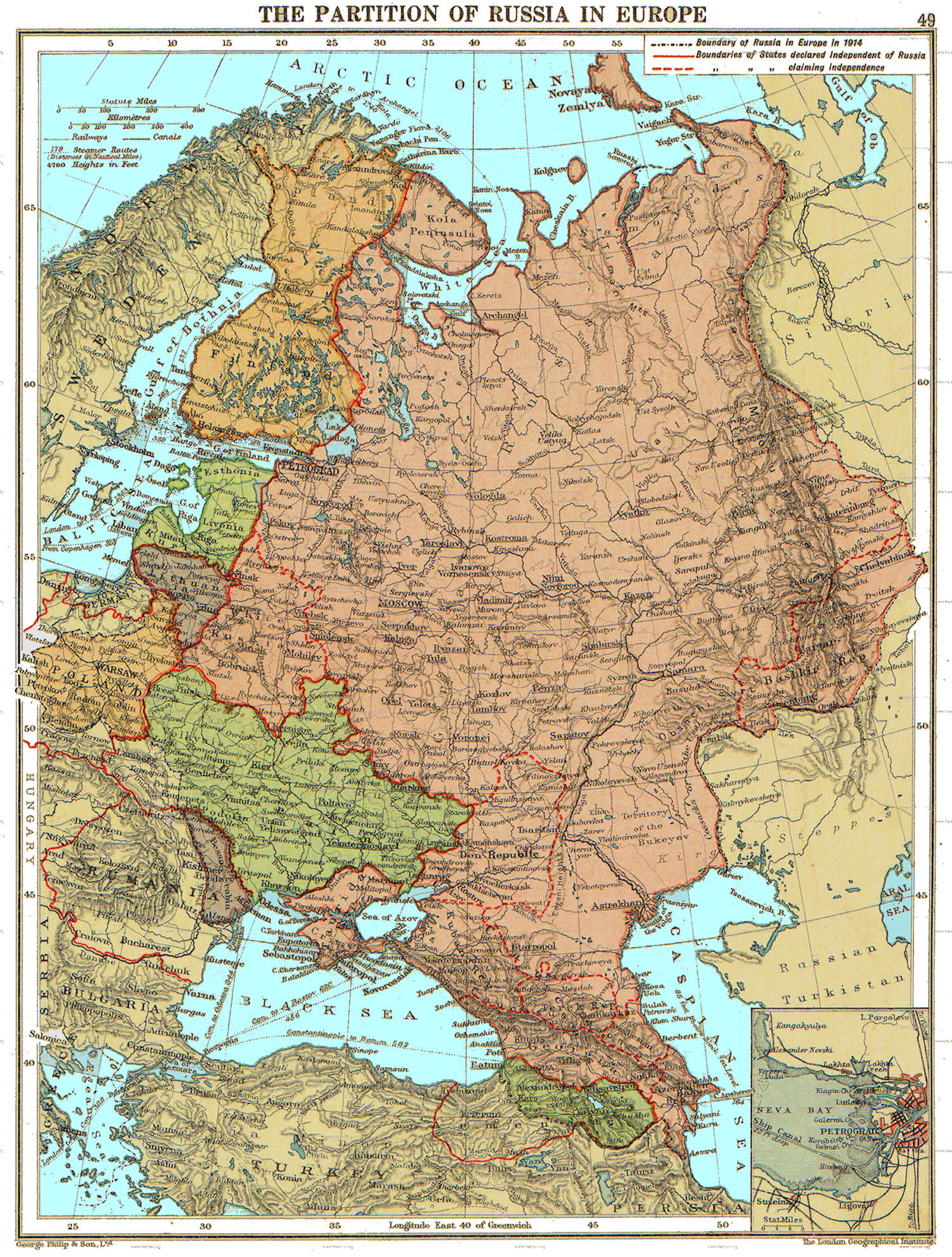 Maps Of Russian History - Russia on map