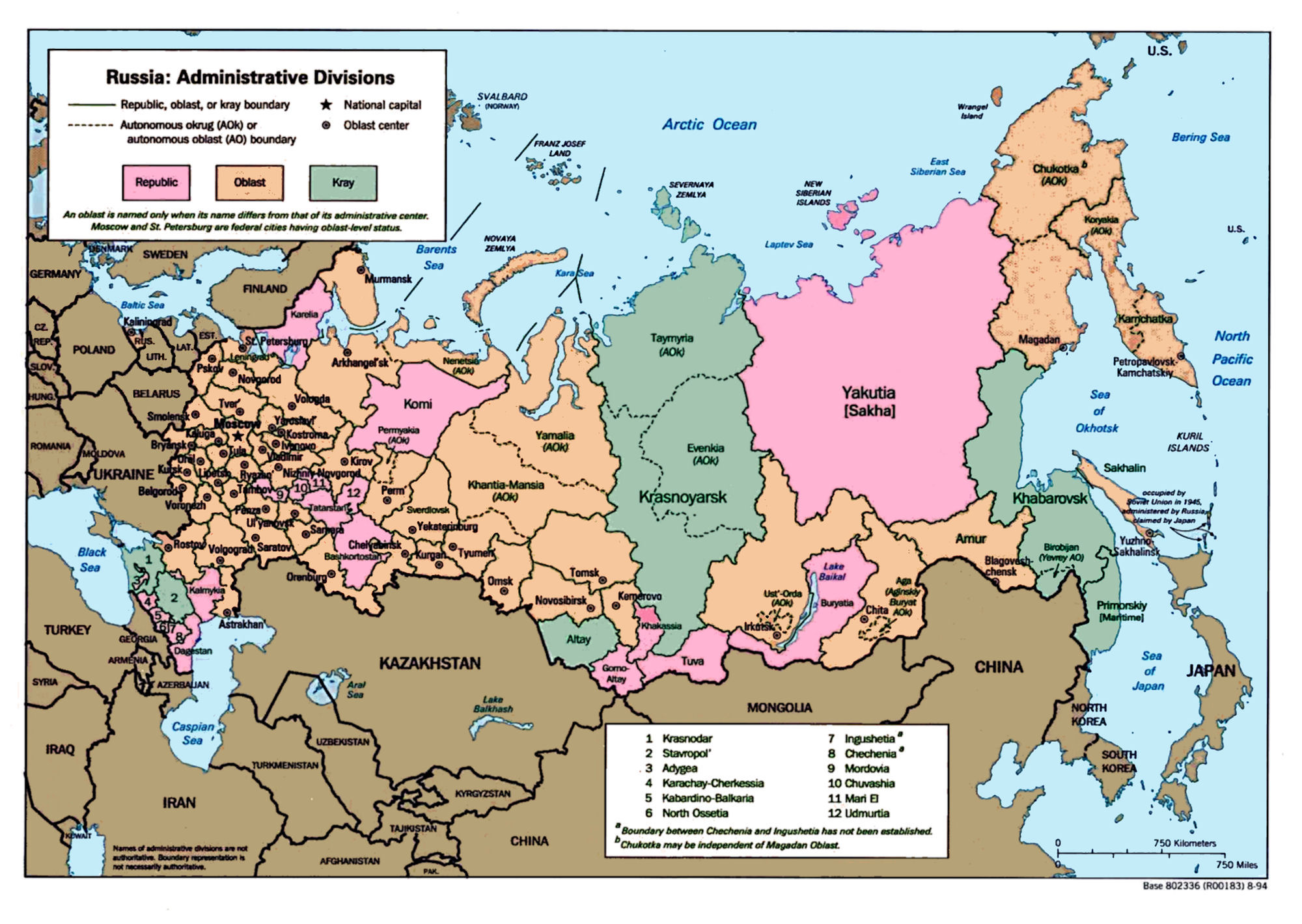 Maps Of Russia And The Soviet Union