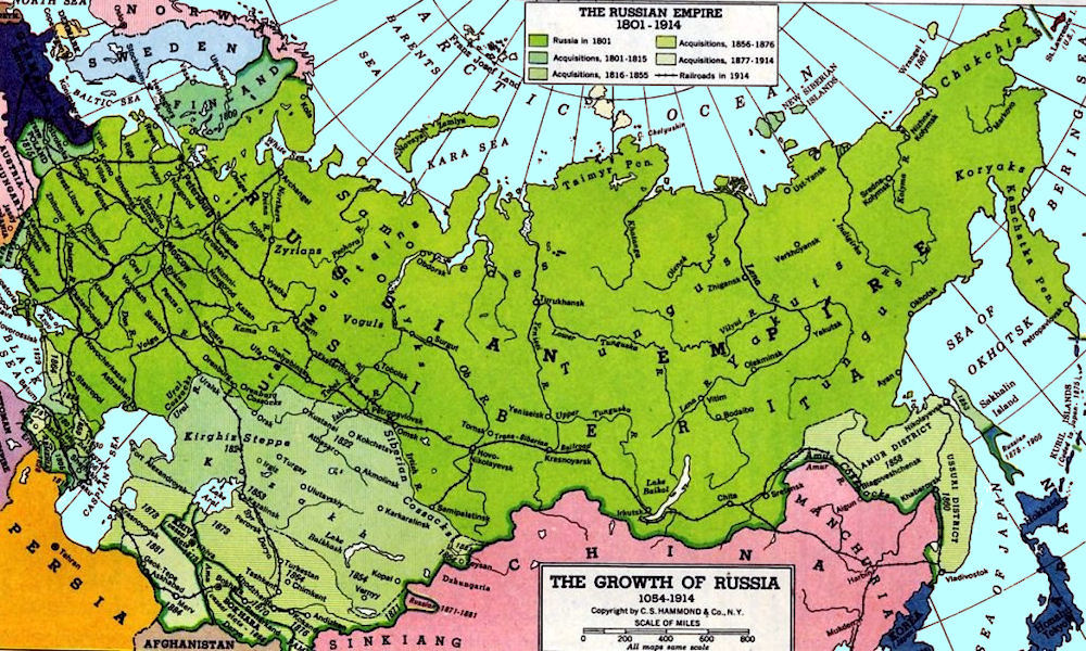 an introduction to the russian empire Introduction :: russia panel - expanded background:  former: russian  empire, russian soviet federative socialist republic etymology: russian lands .