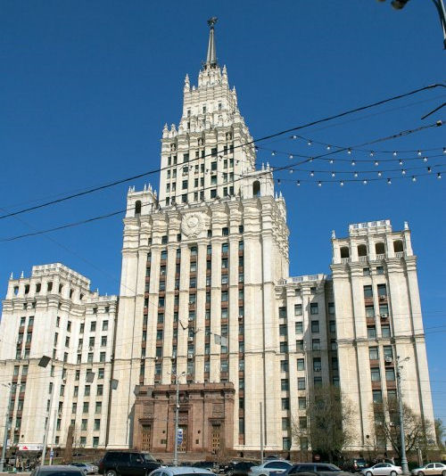 Wedding Cake Buildings Moscow
