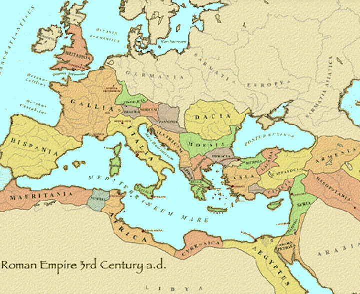 Rd Century ACE Maps Of Ancient Rome Pinterest Ancient Rome - Rome map world
