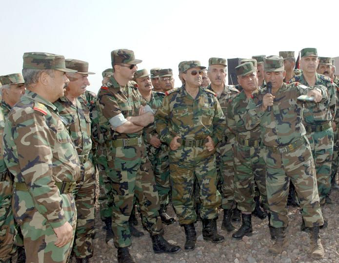 syria military uniforms and insignia