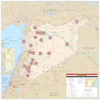 Syria Air Bases Map