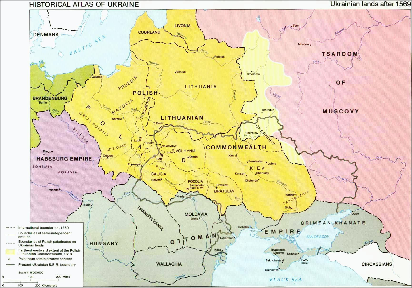 Ukraine maps 1569 ukraine history map gumiabroncs Gallery