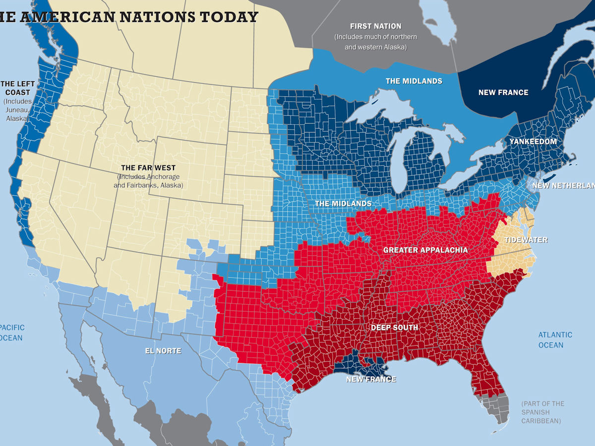 Usa Map With Regions.Usa Geography