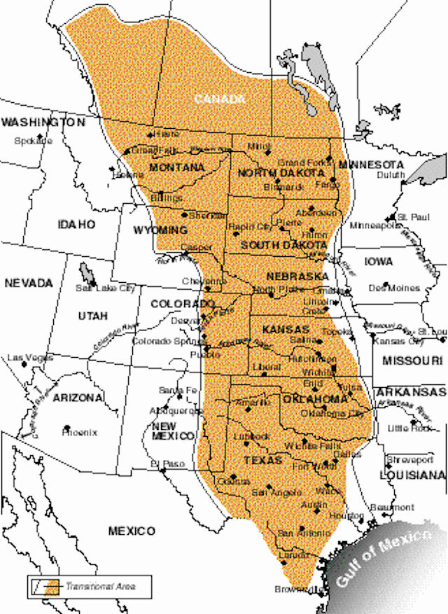 Usa Great Plains And Prairies Agriculture
