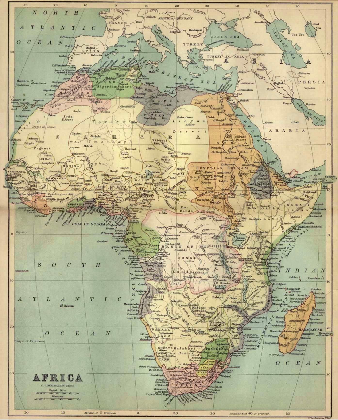 The scramble for africa africa map 1885 gumiabroncs Image collections