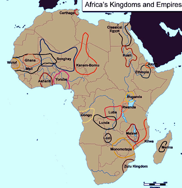 African Kingdoms List African Kingdoms
