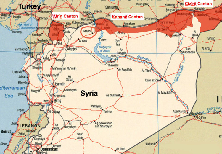 Syria Operation Olive Branch